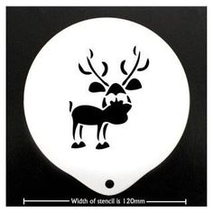 Reindeer stencil Browse our huge range or simply search for a product and order. Our partners ship to you directly and all at the best possible prices.  http://www.love-espresso.co.uk/