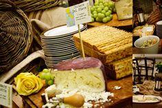 Wedding Ideas:  Cheese Table!