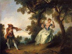 Nicolas Lancret, L'Altalena. 1730