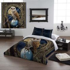 Wild Star Home Duvet Cover Set, Queen Size, The Spell Keeper