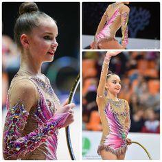 Dina Averina (Russia), hoop 2016