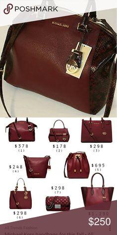 4f9a7471cb0 Michael Kors Handbag   Michael kors, Conditioning and Drop