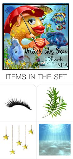 """jewels of the sea....."" by groen ❤ liked on Polyvore featuring art"