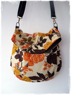 recycled curtains.  bag.