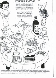 Nutrition Coloring Activities Awesome Pin by Nana Avaliani On Jansagi Kveba Weather Worksheets, Free Kindergarten Worksheets, Worksheets For Kids, Kindergarten Reading, Special Education Activities, Health Activities, Color Activities, Preschool Centers, Free Preschool
