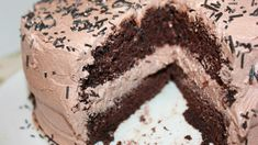 14 Holiday desserts to make chocolate lovers drool: Chocolate cheesecake cake Mothers Day Desserts, Desserts To Make, Köstliche Desserts, Holiday Desserts, Delicious Desserts, Dessert Recipes, Thanksgiving Desserts, Best Birthday Cake Recipe, Cool Birthday Cakes