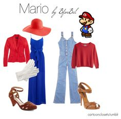 Roupa Inspirada no Mario