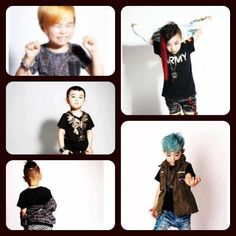 mini big bang <3 it is so obvious who everyone is!