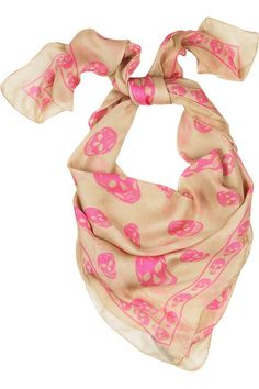 mcqueen scarf