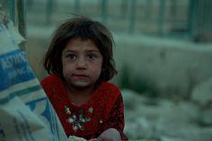 Homeless girl in Kabul/Afgahnistan...