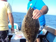 My first Flounder i caught in the Delaware Bay!