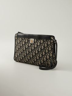 Christian Dior Vintage Logo Print Shoulder Bag - Farfetch b77372b1ef715