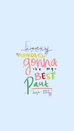 Cute Inspirational Quotes, Inspirational Wallpapers, Cute Wallpapers, Mood Quotes, Happy Quotes, Positive Quotes, Blue Wallpaper Iphone, Galaxy Wallpaper, K Pop