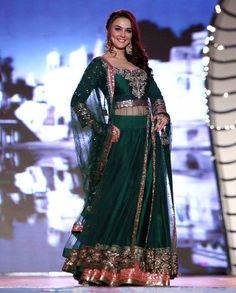 P Zinta in Manish Malhotra 2014