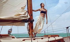 Harper's Bazaar Mexico June 2015, Luma Grothe -2 #yachtphotoshoot