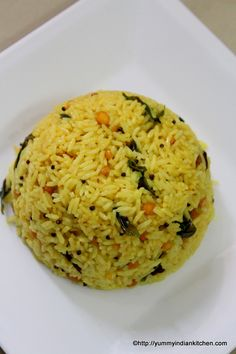 Pulihora is another version of rice recipe across andhra region and south india as well. It is a tangy rice recipe made using tangy pulp of tamarind in tempered rice.