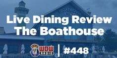 Join me at the table for a LIVE review of The Boathouse in Disney Springs