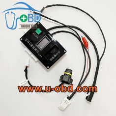 BMW G Series BDC key programming B48 B58 DME 8HP TCU test harness
