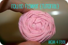 I have been looking for tutorials on how to make these adorable rolled flowers {you can use them for so many projects}. I have seen many, but some were very confusing, so I decided to take a bit from different ones, and make my own. First I cut a piece of fabric (2 inches X...Read More »