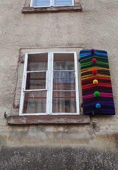 Strick-Graffiti :: Guerilla Knitting; Yarn Bombing