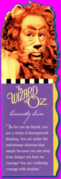 """The wizard of Oz """"Commercial bookmark"""""""