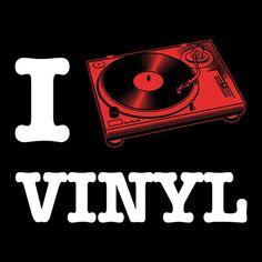 I play vinyl