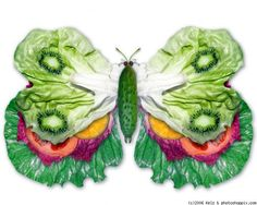 buterfly salad