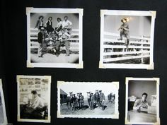 WWII WW2 Photograph Lot Military Pictures in Album with Letter to Mom | eBay
