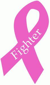 Silhouette Design Store - View Design #68210: fighter breast cancer ribbon