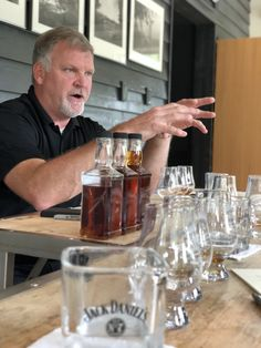The current Master Distiller of Jack Daniel's personally selecting the inaugural barrel for The Whiskey Cave. Jack Daniels Bottle, Jack Daniels Whiskey, Bourbon Whiskey, Truckers Girlfriend, Men Cave, Beverages, Drinks, Happy Life, Barrel
