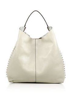 Rebecca Minkoff - Studded Leather Hobo Bag