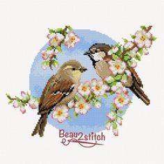 Kijk wat ik gevonden heb op Freubelweb.nl: een gratis borduurpatroon van Beau2Stitch om deze leuke musjes te borduren https://www.freubelweb.nl/freubel-zelf/gratis-borduurpatroon-musjes/