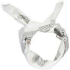Boohoo Amy Bandana Print Headscarf Neckerchief (9.12 CAD) ❤ liked on Polyvore featuring accessories, hair accessories, bohemian hair accessories, head scarf, hippie head scarf, hippie head scarves and floral head scarf