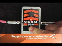 Electro-Harmonix Signal Pad Demo
