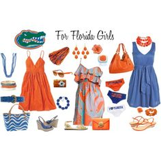Florida Gators Gameday outfit options- I need more girly-ness in my game day gear. Florida Gators, Florida Girl, Gator Game, Gator Football, Nfl, Dress To Impress, Outfit Of The Day, What To Wear, Style Me