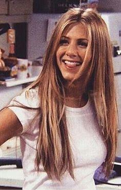 Green/Jennifer Aniston Her super long hair was my favorite. I LOVE her long hair!Rachel Green/Jennifer Aniston Her super long hair was my favorite. I LOVE her long hair! Tv: Friends, Serie Friends, Friends Moments, Friends Tv Show, Friends Season, Close Friends, Find Friends, Jennifer Aniston 90s, Friends Jennifer Aniston
