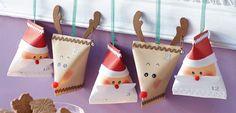 Diese 24 putzigen Avdentskalenderpäckchen halten kleine Überraschungen für die Kinder bereit und verkürzen die Wartezeit aufs Christkind.  © frechverlag GmbH