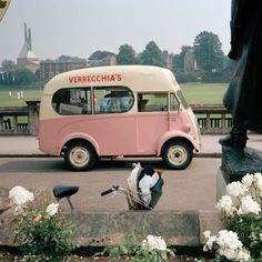 1987 ice cream van, UK by #martinparr