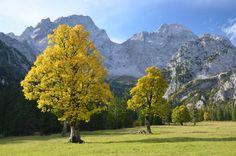 Karwendel, Tirol       Wohl einer der schönsten Plätze in den Alpen ist der...