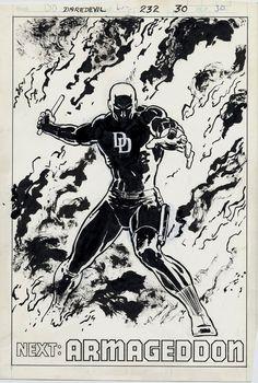 Daredevil 232 by David Mazzucchelli.
