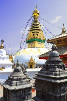 "Swayambunath (""Monkey Temple"") in Kathmandu, Nepal~ been here too!"