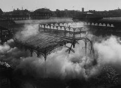 destruction des Halles de Paris , Robert Doisneau