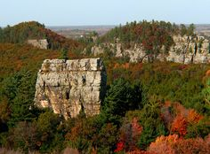 Mill Bluff State Park - Wisconsin by Cole Chase ~ Camp Douglas, WI.