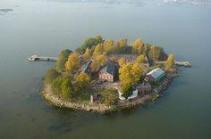 Lonnan saari, Helsinki. Kuva: Visit Helsinki / Suomen Ilmakuva Oy