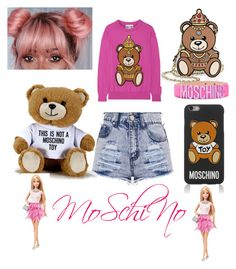 """""""Moschino."""" by aura-helena ❤ liked on Polyvore featuring Moschino"""