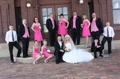 PINK wedding party!