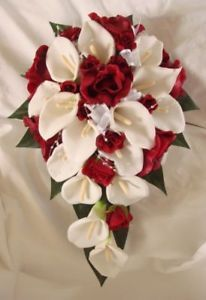 Burgundy Wedding | Home, Furniture & DIY > Wedding Supplies > Flowers, Petals & Garlands