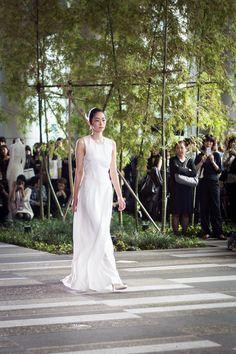 Amazon Fashion Week tokyo, Hanae Mori, Yu Amatsu, fashion, fashion show, japanese fashion,tokyo fashion week  Hanae Mori, hanae mori manuscrit, wedding, wedding fashion, wedding dress, japanese wedding dress, fashion, japanese fashion, fashion show