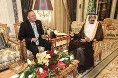 Prime Minister John Key meets King Salman