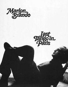 "marlonbrando: "" Promotional shot of Marlon Brando in the film Last Tango in Paris "" Marlon Brando, Last Tango In Paris, World Tv, Scene Image, Types Of Lettering, Cinema Movies, New Poster, Music Film, Wild Ones"